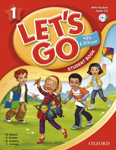 Let's Go 4TH Edition: 1 Student Book with CD Pack