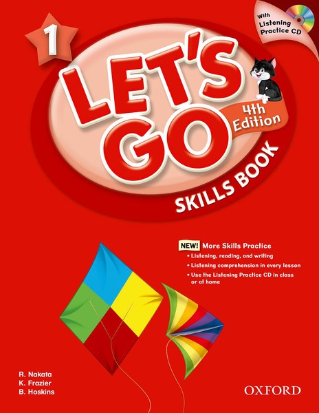 Let's Go 4TH Edition: 1 Skills Book with Audio CD Pack