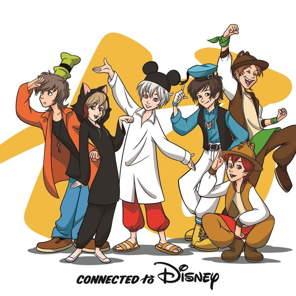 Connected to Disney(通常盤)