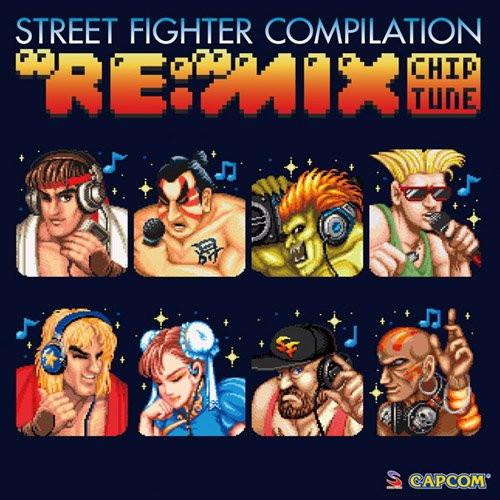 ストリートファイター コンピレーション'RE:'MIX チップチューン
