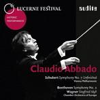 みかん出演:アバド/シューベルト:交響曲D.759『未完成』、ベートーヴェン:交響曲第2番、他