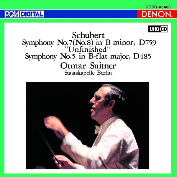 スウィトナー/UHQCD DENON Classics BEST シューベルト:交響曲第8番《未完成》&第5番