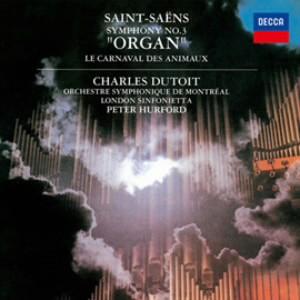 デュトワ/サン=サーンス:交響曲 第3番《オルガン》、組曲《動物の謝肉祭》