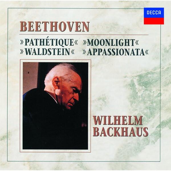 バックハウス/ベートーヴェン:四大ピアノ・ソナタ集