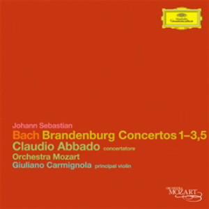 アバド/バッハ:ブランデンブルク協奏曲第1番〜第3番、第5番