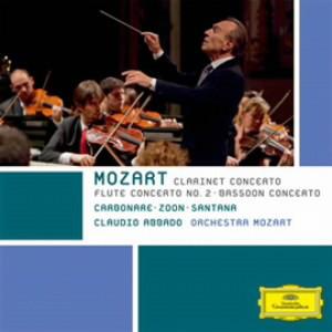 アバド/モーツァルト:クラリネット協奏曲、フルート協奏曲第2番、ファゴット協奏曲