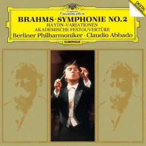 アバド/ブラームス:交響曲第2番、ハイドンの主題による変奏曲、大学祝典序曲