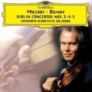 デュメイ/モーツァルト:ヴァイオリン協奏曲第3番・第4番・第5番