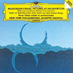 シノーポリ/ムソルグスキー:組曲《展覧会の絵》、他