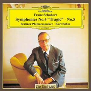 ベーム/シューベルト:交響曲第4番「悲劇的」&第5番