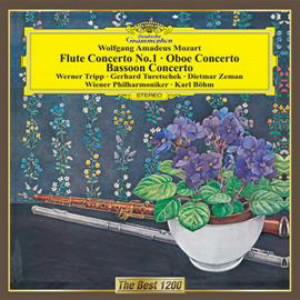 ベーム/モーツァルト:フルート協奏曲第1番、オーボエ協奏曲、ファゴット協奏曲