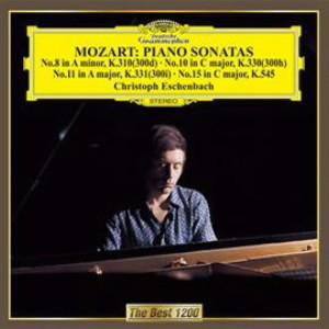 エッシェンバッハ/モーツァルト:ピアノ・ソナタ第8番&第10番&第11番&第15番