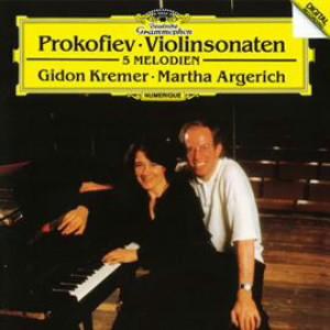 アルゲリッチ/プロコフィエフ:ヴァイオリン・ソナタ第1番&第2番、他