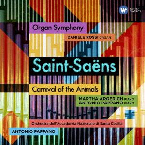 パッパーノ/サン=サーンス:交響曲第3番「オルガン付き」、組曲「動物の謝肉祭」