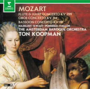 コープマン/モーツァルト:木管楽器のための協奏曲集