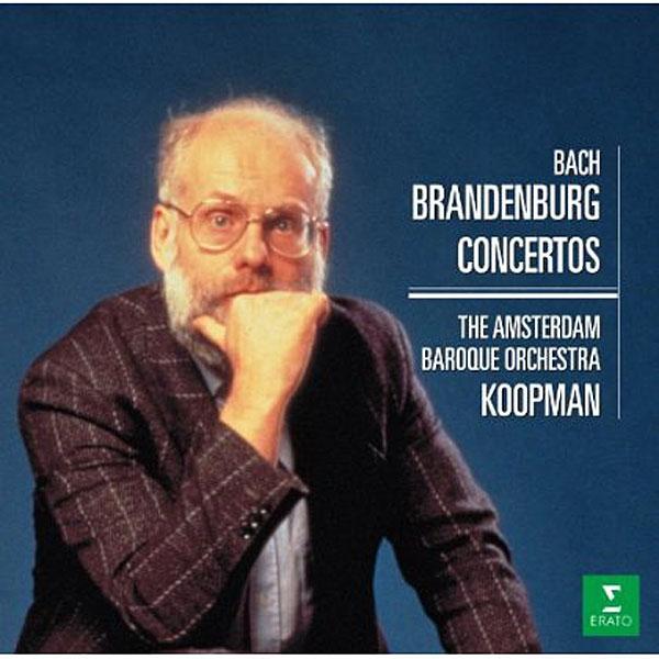 コープマン/バッハ:ブランデルブルク協奏曲(全6曲)