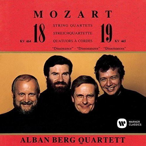 アルバン・ベルク四重奏団/モーツァルト:弦楽四重奏曲第18番、第19番(UHQCD)