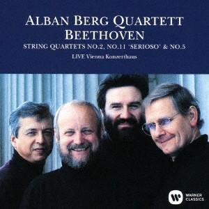アルバン・ベルク四重奏団/ベートーヴェン:弦楽四重奏曲第2番 第11番「セリオーソ」、第5番(1989年ライヴ)(UHQCD)