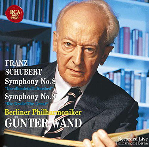 ヴァント/シューベルト:交響曲第8番「未完成」&第9番「ザ・グレイト」