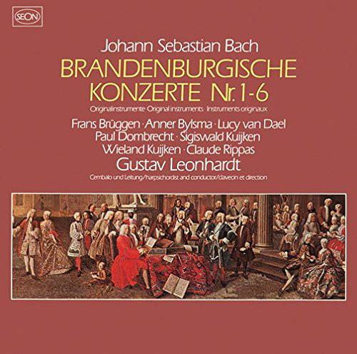レオンハルト/バッハ:ブランデンブルク協奏曲(全曲)