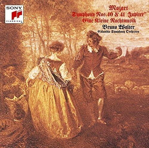 ワルター/モーツァルト:交響曲第40番&第41番「ジュピター」&アイネ・クライネ・ナハトムジーク