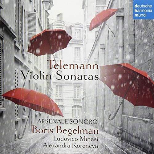 ベゲルマン/テレマン:ヴァイオリン・ソナタ集(7曲)&無伴奏ファンタジア第9番