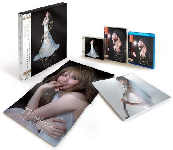 サラ・オレイン/「Timeless〜サラ・オレイン・ベスト」 完全生産数量限定スペシャルBOX(DVD+Blu-ray Disc付)