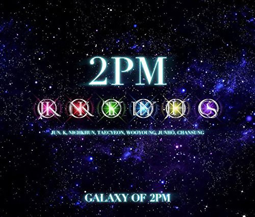 2PM/GALAXY OF 2PM リパッケージ(初回生産限定盤)(DVD付)