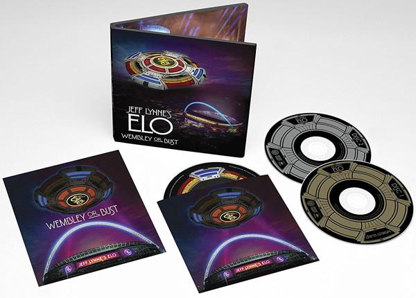 ジェフ・リンズ ELO/ウェンブリー・オア・バスト〜ライヴ・アット・ウェンブリー・スタジアム(完全生産限定盤)(Blu-ray Disc付)