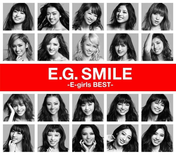 E-girls/E.G. SMILE-E-girls BEST-(2CD+1DVD)