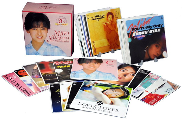 中山美穂/30th Anniversary THE PERFECT SINGLES BOX(DVD付)