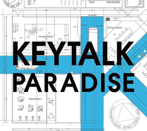 KEYTALK/PARADISE(初回限定盤A)(DVD付)
