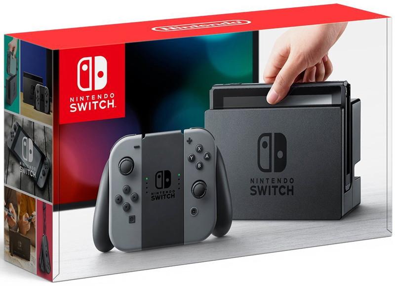 【本体】 Nintendo Switch Joy-Con(L)/(R) グレー
