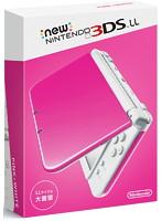 【本体】 Newニンテンドー3DS LL ピンク×ホワイト