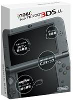 【本体】 New ニンテンドー3DS LL メタリックブラック