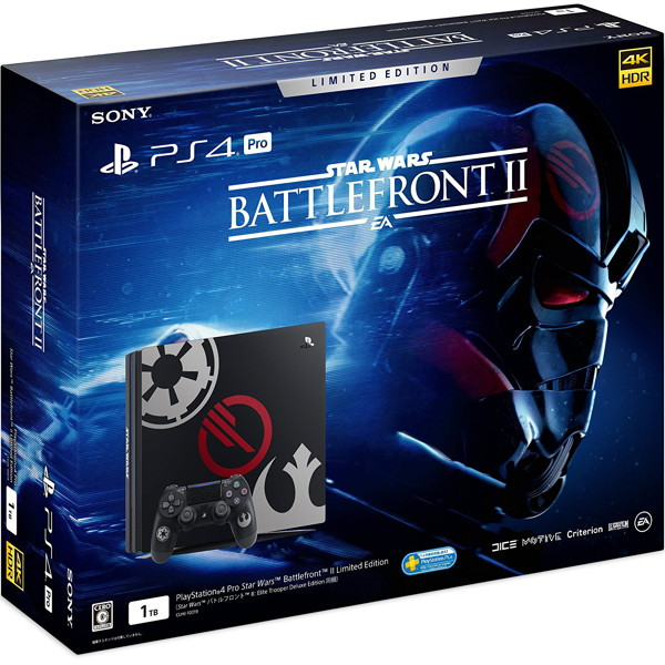 【本体】PlayStation 4 Pro Star Wars Battlefront II Limited Edition