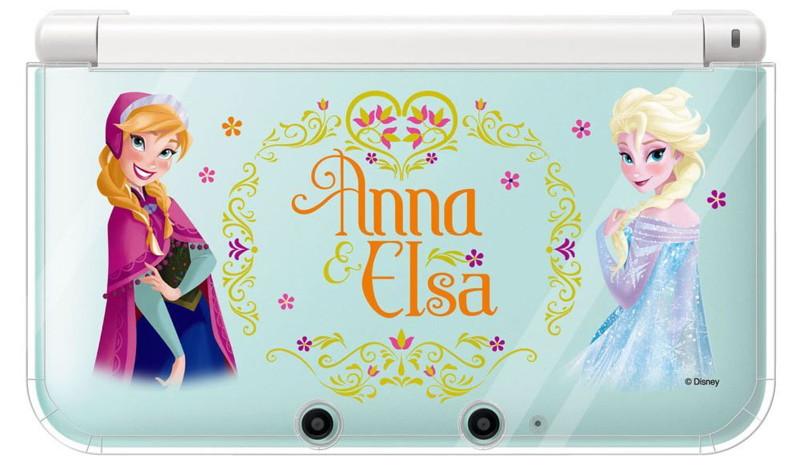 キャラプレカバー for ニンテンドー3DSLL アナとエルサ(アナと雪の女王)