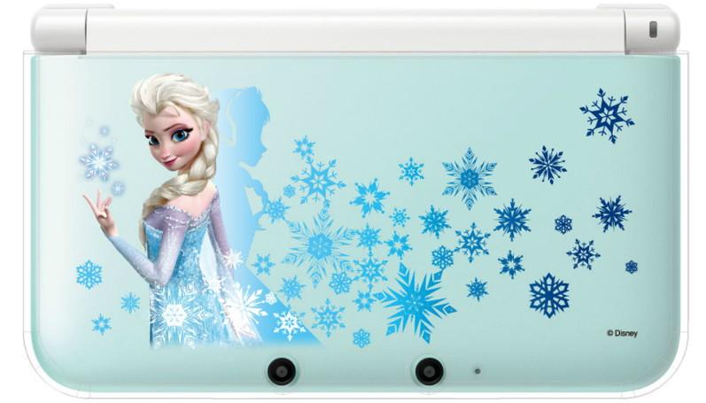 キャラプレカバー for ニンテンドー3DS LL アナと雪の女王 エルサ (クリア)