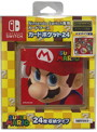 Nintendo Switch専用カードポケット24 スーパーマリオ2