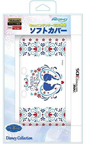 Newニンテンドー3DS専用ソフトカバー アナと雪の女王