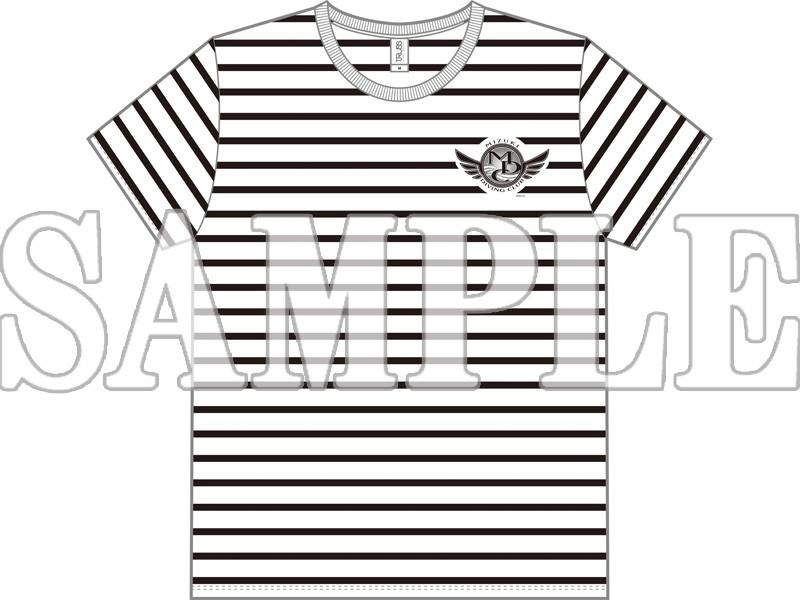 [Mサイズ]DIVE!! MDCチームロゴボーダーTシャツ