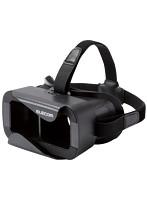 VRゴーグル/眼鏡対応/ブラック