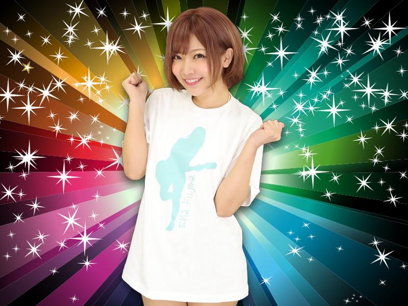 藤田恵名オリジナルTシャツ サイズL