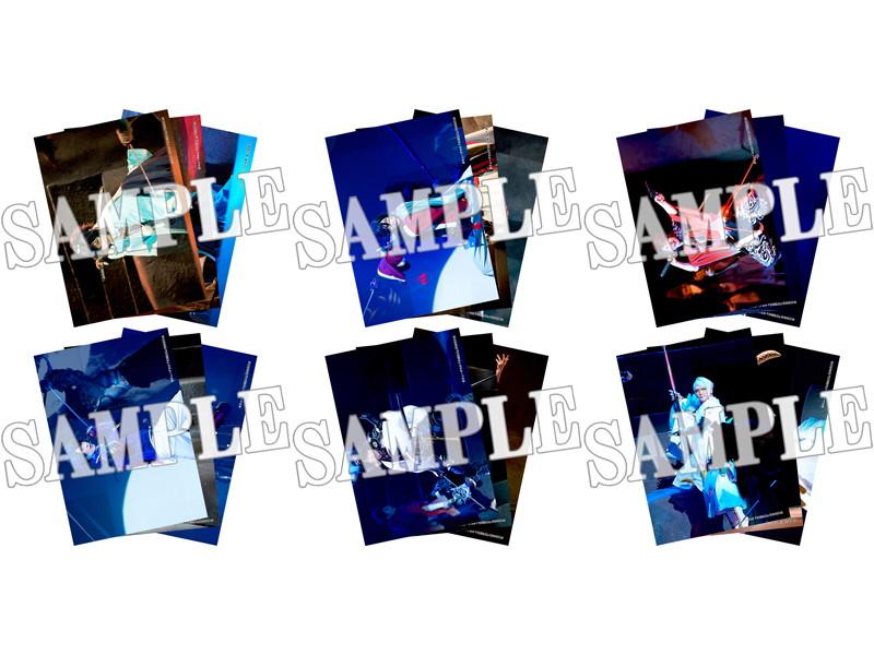 結びの響、始まりの音 舞台写真ブロマイド 刀剣男士(1部衣裳)6種セット
