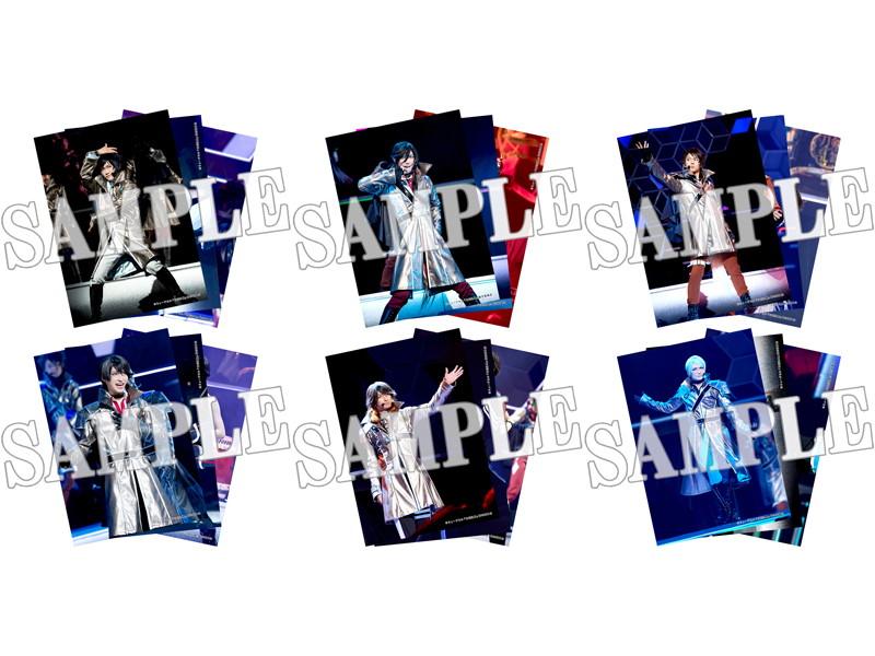 結びの響、始まりの音 舞台写真ブロマイド 刀剣男士(2部衣裳)6種セット