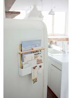マグネット冷蔵庫サイドレシピホルダー トスカ ホワイト