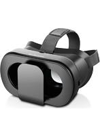 VRグラス/デュアルレンズ/多機能色収差補正/折りたたみタイプ/ブラック