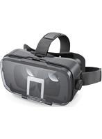 VRグラス/デュアルレンズ/多機能色収差補正/ブラック