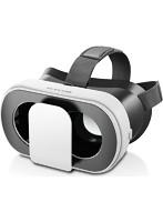 VRグラス/デュアルレンズ/多機能色収差補正/折りたたみタイプ/ホワイト