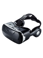 サンワサプライ VRゴーグル MED-VRG3 (瞳孔間距離・焦点距離調節機能・ヘッドホン付き)